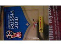 Russia 2018 panini fifa world cup stickers