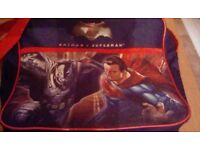 Batman v Superman school bag