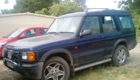 2001 TD5 ES Land rover discovery, automatic