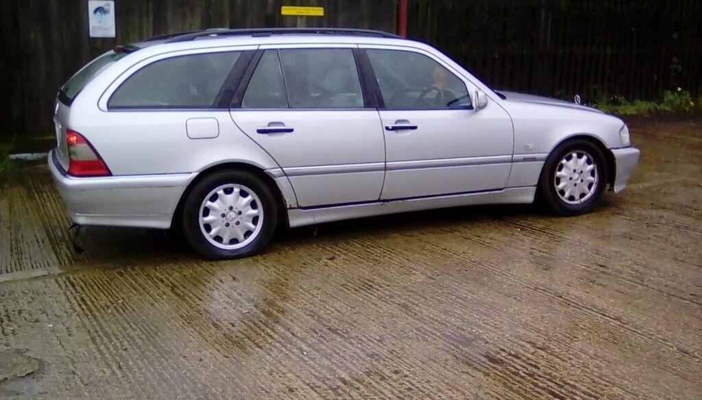 99 V reg LOW MILES MERCEDES-BENZ C CLASS ESTATE AUTO ( NO MOT ) EXPORT