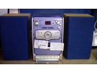Bush Mini CD/Cassette/Radio Stereo #30246 £12