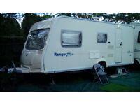 2008 Bailey Ranger 510, 4 berth caravan.