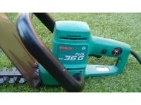 Bosch PHS 36G Electric Hedge Trimmer.