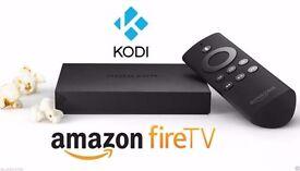 Amazon Fire BOX with Kodi 16.1 Fully-Loaded✔️Sports✔️Movies✔️TV✔️Kids✔️Adult