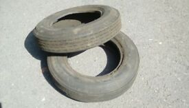 Vintage Dunlop Remould tyes 5-20x13