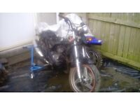 Kawasaki er 500cc road bike breaking for parts