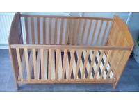 Obaby Beverley Cot Bed, Mattress&Instructions included. Good condition