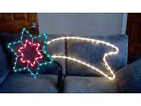 Christmas shooting star light