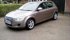 08 Kia C'eed SR 1.6 excellent condition, reliable car. Low milaege! Take a look! Bargain!