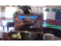 SAB Espresso Machine & grinder.