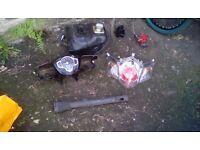 Hi im selling my 2012 tgb 125cc parts grab a bargin