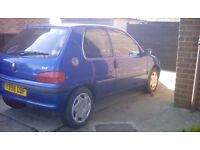 Peugeot 106 independance 1.1