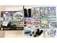 Wii U Premium Mega Pack - 2 Remotes, 2 Nunchuks and 7 Games