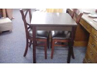 Square Dining Table and Two Chairs #29887 £85