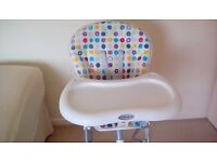 Graco high chair, excellent condition