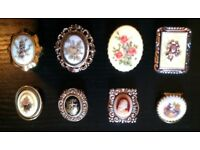 8 Assorted Scarf Rings (*1)