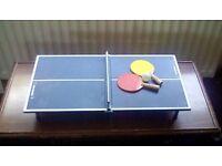 Table Tennis Table Travel Kids Set