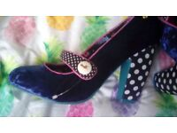 New babycham shoes size 8 eur 41 still in box