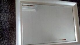 Mirror, excellent condition , large 90 cms wide.by
