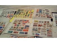 Old stamps from u.s.a & canada & new zealand & australia & france from1940 to 1980