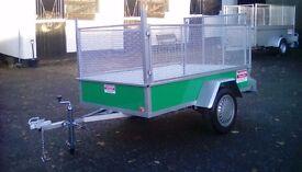 7x4 Car trailer with meshkit