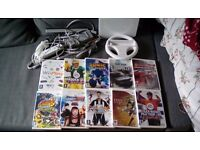 Nintendo Wii + 10 Games Fully working & Great condition (Portswood)