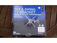 TV WALL BRACKET Tilt & Swing 16-37 inch