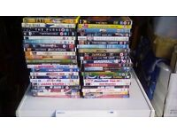 44 used dvds