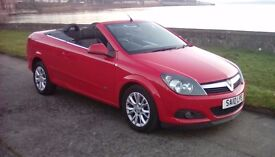 LOVELY 2010 VX ASTRA CONVERTIBLE SPORT. 1 OWNER. 56 K. FSH. PERFECT XMAS GIFT