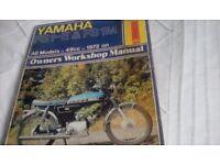 Haynes motorbike workshop manuals