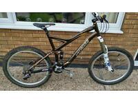 Specialized enduro pro sl carbon mountain bike