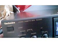 Hi im selling my technics tape deck