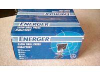 ENERGER ENB672DBT 350 WATT DRILL PRESS PILLAR DRILL - NEW IN BOX
