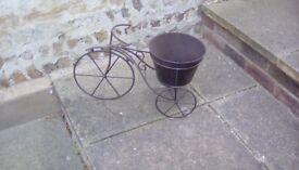 Garden tricycle planter