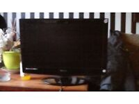 Teknika 21.6 inch led tv with built in dvd