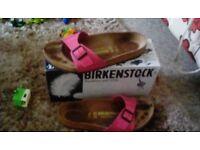 Pink Birkenstock size 8