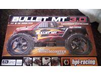 Nitro fuel monster truck radio control