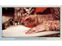 Professional VIDEOGRAPHER & PHOTOGRAPHER for Wedding - Reception - Mehndi - Birthday Parties