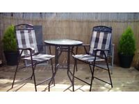 Quest elite bistro table and chairs