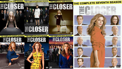 The Closer Seasons  1 7 Complete Series Dvd Set