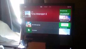 Xbox one 500 gb with headset one control 3 games