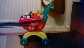 Chad Valley Shopping Trolley & Accessories