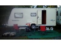 2008 Bailey Ranger 510, 4 berth caravan with mover, awning and starter kit