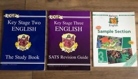 Loads of CGP and revision work books - see listings