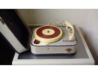 Westminster portable record player