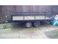 4 wheel trailer. Bargain!