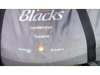 Blacks constellation tuscana series 11 3 bedroom tent plus loads extras