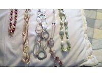 job lot costume Jewellery mixed items