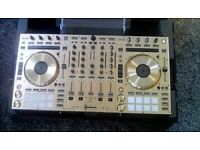Pioneer ddj sx2 controller in gold