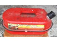 Harry Moss Petrol Can & Sump Oil Drainage Container